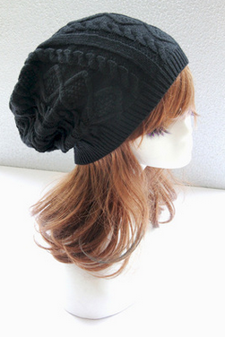 Knitted cap Small twist hat outdoor leisure hat